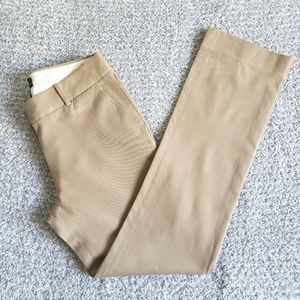 J. Crew Campbell Cotton Stretch Trousers Pants